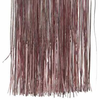 15x zakjes oud roze lametta engelenhaar 50 x 40 cm kerstboomversiering