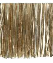 15x zakjes camel bruine lametta engelenhaar 50 x 40 cm kerstboomversiering