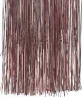 4x zakjes oud roze kerstboom versiering lametta haar